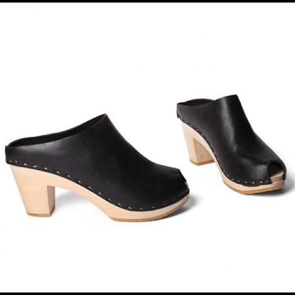 ba72e4514 BRYR Shoes | Chloe Peep Toe Clog Size 37 | Poshmark